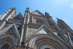 Orvieto cathedral Royalty Free Stock Photography