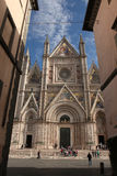 Orvieto Cathedral in Orvieto, Umbria, Italy. Royalty Free Stock Photography