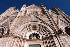 Orvieto Cathedral, Umbria, Italy Royalty Free Stock Images