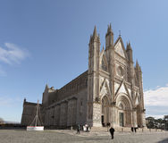 Orvieto Cathedral, Umbria, Italy Stock Photography