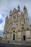 Orvieto Cathedral, Umbria, Italy. Stock Images