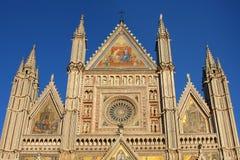 Orvieto Cathedral, Umbria, Italy Orvieto Royalty Free Stock Image