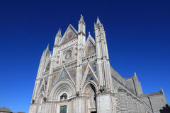 Orvieto Cathedral Royalty Free Stock Photos