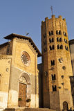 Orvieto Church And Bell Tower Royalty Free Stock Images