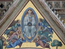 Orvieto - Duomo facade. Royalty Free Stock Photo