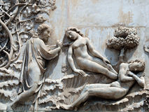 Orvieto - Duomo fasada obrazy stock