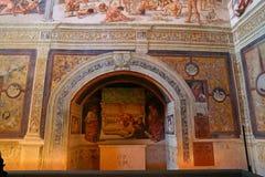 Orvieto - Duomo interior. , beautiful Cathedral in Orvieto, Umbria, stock photo