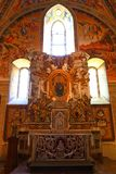 Orvieto - Duomo interior. , beautiful Cathedral in Orvieto, Umbria, royalty free stock photography