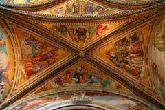 Orvieto - Duomo interior. , beautiful Cathedral in Orvieto, Umbria, stock photos