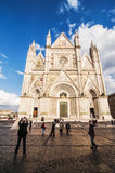 Orvieto Duomo Royalty Free Stock Photography