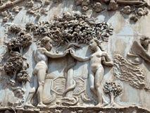 Orvieto - Duomofassade Lizenzfreie Stockfotos