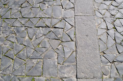 Orvieto, Italië, straatsteen stock fotografie