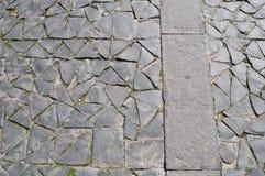 Orvieto, Italia, pedra de pavimentação Fotografia de Stock