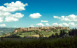 Orvieto Italy Stock Photography
