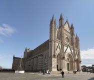 Orvieto Kathedrale, Umbrien, Italien Stockfotografie