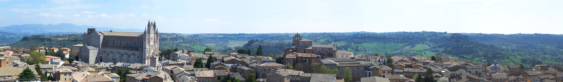 Orvieto landscape Royalty Free Stock Photo