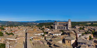 Orvieto medieval town in Italy Stock Photos