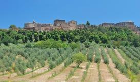 Orvieto, Ombrie, Italie photos libres de droits