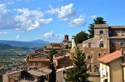 Orvieto-Panorama Stockfotos