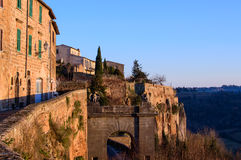 Orvieto, rooftop view Stock Images