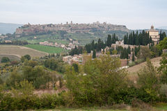 Orvieto Terni意大利 免版税图库摄影