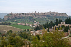Orvieto Terni Italien Stockfotografie