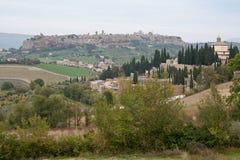 Orvieto Terni Italy. Orvieto historical city on top of a hill, Trevi, Italy Royalty Free Stock Photography