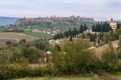 Orvieto Terni Italy. Orvieto historical city on top of a hill, Trevi, Italy Stock Photography