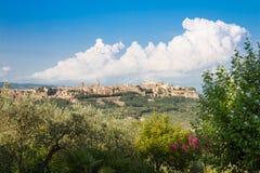 Orvieto, Umbria, Италия Стоковое фото RF