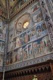 Orvieto, Umbria, il 30 agosto 2015 La cattedrale di Orvieto Immagine Stock Libera da Diritti