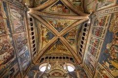 Orvieto, Umbria, il 30 agosto 2015 La cattedrale di Orvieto Fotografie Stock Libere da Diritti