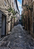Orvieto, Umbria, Italy, narrow Royalty Free Stock Images