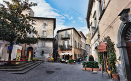 Orvieto, Umbria, Italy, narrow Stock Photo