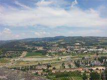 Orvieto, Umbria, Włochy obrazy royalty free
