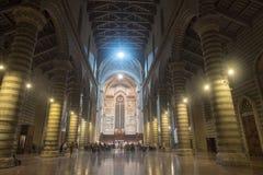 Orvieto Umbria, Włochy, wnętrze średniowieczna katedra, lub Obraz Stock
