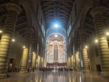 Orvieto Umbria, Włochy, wnętrze średniowieczna katedra, lub Fotografia Royalty Free