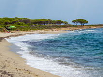 Orvile Beach, Sardinia Royalty Free Stock Photo