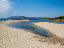 Orvile Beach, Sardinia Stock Photo