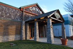 Orvis入口 免版税库存图片