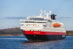 Orwegian passenger cruise ship MS Polarlys Royalty Free Stock Photography