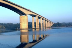 Orwell Brücke Stockfotos