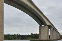 Orwell bridge from Below Stock Image
