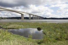 Orwell Bridge, Ipswich. Suffolk, UK Royalty Free Stock Photos