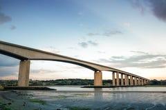 orwell brug in Engeland stock afbeelding