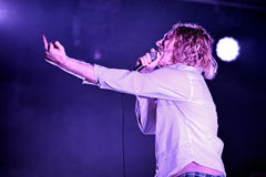 The Orwells (band) live music show at Bime Festival Stock Image