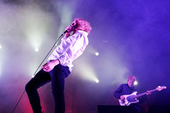 The Orwells (band) live music show at Bime Festival Royalty Free Stock Photography