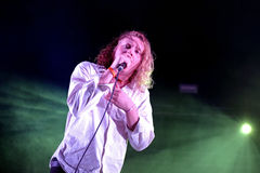 The Orwells band live music show at Bime Festival Stock Image