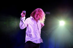 The Orwells (indie alternative band) live music show at Bime Festival Stock Image