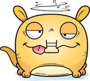 Oryctérope de Goofy de bande dessinée illustration stock