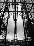 Oryginału most w mieście Bilbao Hiszpania obraz stock